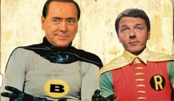 satira-renzi-berlusconi-batman-robin